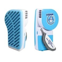 S & F Mini แบบพกพา USB Cooling Evaporative พ็อกเก็ต AirCoolerAir พัดลม (สี: สีฟ้า)