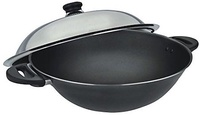 ASD HP8536 Non-Stick Chef Wok with Stainless Steel Cover 36cm