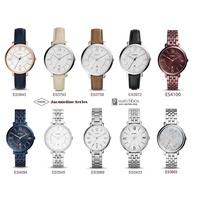 Original Fossil Watch Jacqueline Women Watch Leather/Stainless Steel Watch