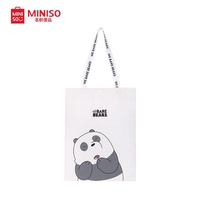 Miniso We Bare Bear Shopping Tote Bag