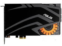 Used, STRIX RAID PRO 7.1 channel Gaming Sound Card(not full new),100% tested good C Store