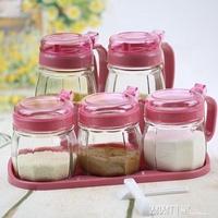 調料盒套裝家用 玻璃調味罐調味盒調料瓶鹽罐油壺調料罐