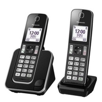 Panasonic DECT數位無線電話雙子機- KX-TGD312TWB  威宏資訊 手機 平板 筆電維修
