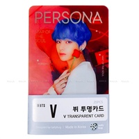BTS V Photo 25pcs Bangtan Boys BTS-V - Kim Taehyung Transparent Photo Card Photocard Set