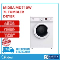 MIDEA MD710W TUMBLE DRYER (7KG)