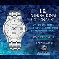 SEIKO INTERNATIONAL EDITION PRESAGE LADIES AUTOMATIC COCKTAIL TIME LIMITED EDITION 5000PCS MADE IN JAPAN SRP843J1