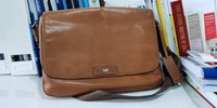 Braun buffel sling bag working bag briefcase