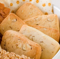 [Taiwan Yus Almond Tofu] Almond Cookie 9-10 Pieces NET WT 90g.Famous Pastry /Snacks from Taiwan.