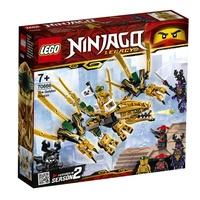 樂高LEGO NINJAGO 旋風忍者 黃金龍  玩具e哥70666