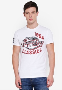 Superdry Famous Flyers Camo Tee