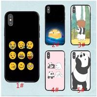 we bare bears emoji For Huawei Honor10 NOVA3E mobile phone case