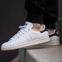 "Original Adidas Stan Smith \\\""Ftwr White/Core Black\\\""-S75076"