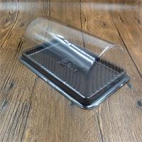 ▪5組入▪半圓式瑞士捲盒/虎皮卷盒/西點蛋糕盒/點心盒/麵包盒/蛋糕盒/吸塑包裝盒