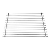 17 1/4inch Outdoor Stainless Steel Smokeless Barbecue BBQ Grill Burner Cooking Net Accessories For Weber