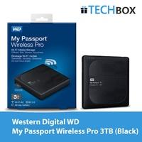 Western Digital WD My Passport Wireless Pro 3TB | WDE-BSMT0030BBK-PESN | 3 YEARS SINGAPORE WARRANTY