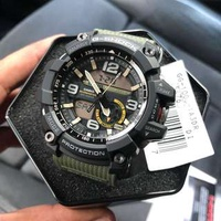💚💚 100% Authentic Casio Gshock Twin Sensor Mudmaster with FREE DELIVERY 📦 GG1000 Olive Green G-Shock Watch