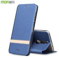 Huawei Nova 2i Case Flip Stand Leather Mofi Elegant Silicone Back Cover For Huawei Mate 10 Lite Case
