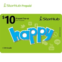 Starhub SGD 10 Prepaid Top-Up Get SGD 11 Value