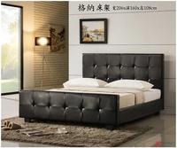 !新生活家具! 嵌入式 床架 床底 雙人床 標準床 5尺床架 床台 咖啡色 實木床架 排骨架《格納》 非 H&D ikea 宜家
