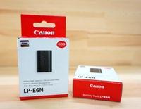 【中壢NOVA-水世界】CANON LP-E6N LPE6N 原廠電池 鋰電池 5D2 5D3 7D 60D 完整盒裝