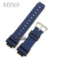 MISS·實拍  限量版卡西歐DW-5600DC/GW-5000/5610/G-5600牛仔藍亞光錶帶/錶鍊