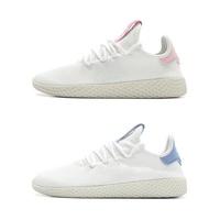 Adidas Tennis Hu Pharrell Williams 粉 白 菲董 聯名 洞洞 透氣 女鞋 DB2558