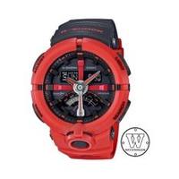 Casio G-Shock GA-500P-4A Watch (Red )