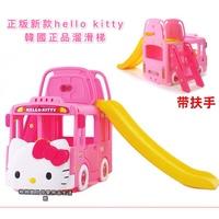 新款正版韓國hello kitty 進口yaya雅雅兒童滑梯室內家用TAYO巴士汽車寶寶玩具溜滑梯