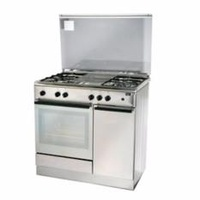Turbo Incanto T9640WELSSV 90cm Free Standing Cooker With Electric Oven