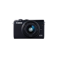 Canon EOS M100 Mirrorless Camera with 15-45mm Lens - Black
