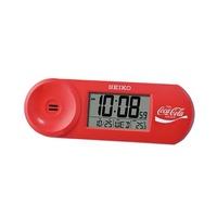 Seiko QHL902RN Coca-Cola Digital Beep Alarm Clock