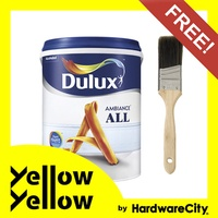 [FREE PAINT BRUSH] Dulux Ambiance All Emulsion Interior Wall Paint 1L