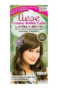 [USA Shipping] KAO Liese Soft Bubble Hair Color (Ash Brown)