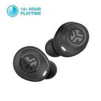 JLAB JLab Audio JBuds Air True Wireless Signature Bluetooth Earbuds + Charging Case - IP55 Sweat Resistance - Class 1 Bluetooth 5.0 Connection - 3 EQ Sound Settings: JLab Signature, Balanced, Bass Boost