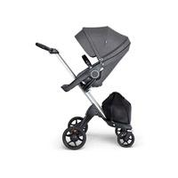 Stokke® Xplory® V6嬰兒手推車(座椅黑灰麻)