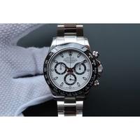 陽光 Rolex 勞力士三眼正計時功能 白熊白 黑熊貓 精品機械手錶
