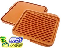 "[8美國直購] 不沾鍋 Gotham Steel Double Grill As Seen On TV 11.5"" Width"