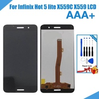 1PC 100% Test For Infinix Hot 5 lite X559C X559 5.5 Inch Mobile Phone LCD Display+Touch screen Digitizer