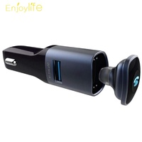 ♑2 in 1 USB Car Charger 5V/2.1A with Wireless Bluetooth 4.0 Headse