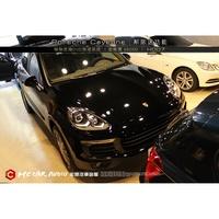 【宏昌汽車音響】保時捷 Porsche Cayenne 安裝 解速器 (行駛中可DVD播放) H007
