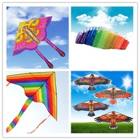 golden eagle kite with handle line kite games bird kite weifang chinese kite