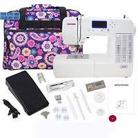 (Janome) Janome 8050 Computerized Sewing Machine with Machine Tote-