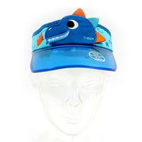 Dino UV cut sunscreen summer hat character hat boy hat