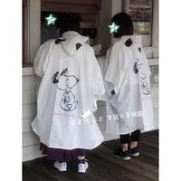 **星星兒**日本直送 大阪環球影城 SNOOPY 雨衣 史奴比 史努比 造型雨衣 兒童雨衣 親子 情侶 日本代購