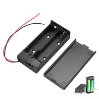 10pcs 18650 Battery Box Rechargeable Battery Holder Board with Switch for 2x18650 Batteries DIY kit Case