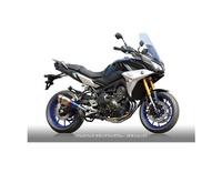 公畝齒輪rs gear RY19-01RD真實規格全部的排氣單人房型圍巾鈦藥品藍色消音器(鈦結束)MT-09/MT-09追踪者/XSR900圍巾 bike-man