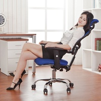 Office Chairs Office Furniture mesh Computer Chair Chassis ergonomic swivel chair Lifting rotary cha