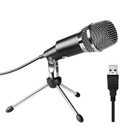 FIFine USB Microphone, Plug &Play Home Studio USB Condenser Microphone for Skype, Recordings for You