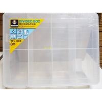 開心小棧~TFL-008看的見8格收納盒  #收納盒#置物盒#小物收納#TFL-008#聯府#