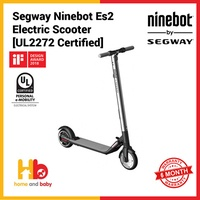 Segway Ninebot Es2 Electric Scooter [UL2272 Certified]